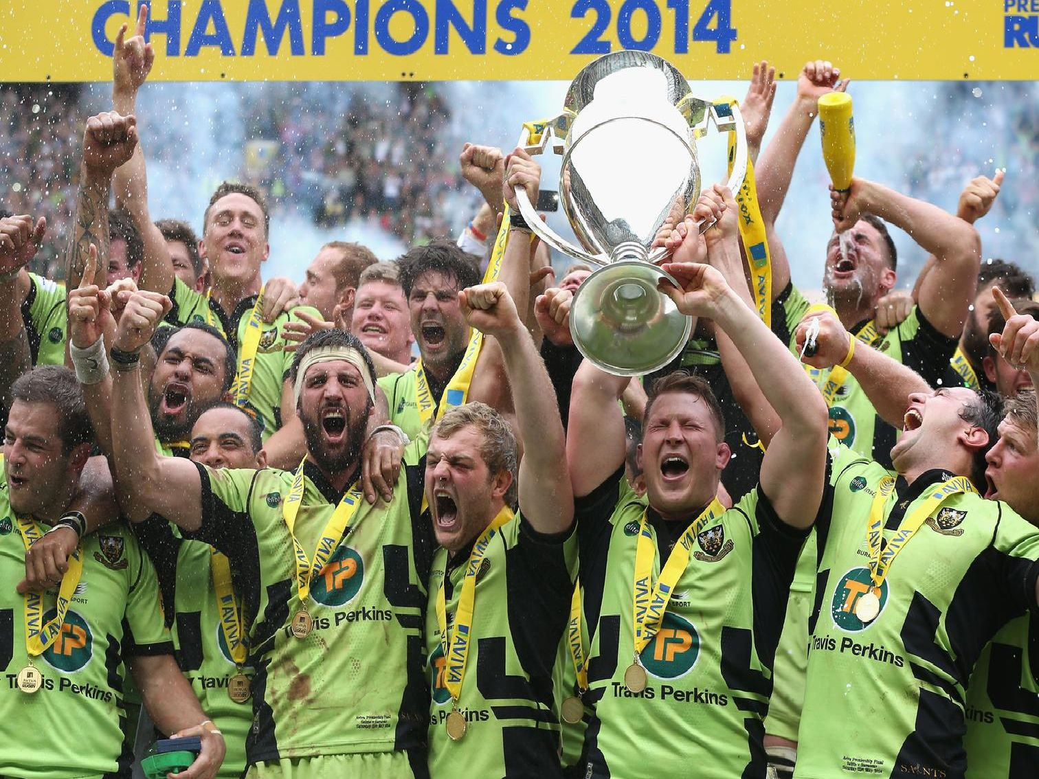 Saints won the Premiership title on May 31, 2014