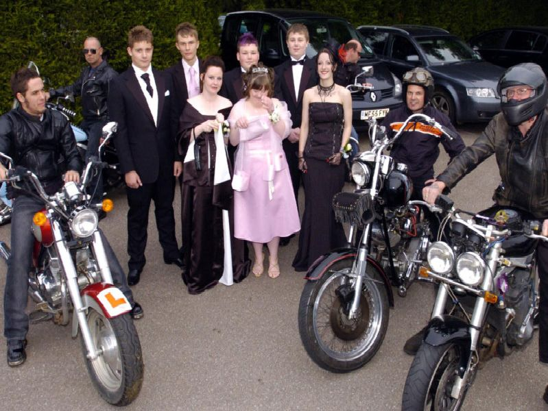 Corby Community College prom, 2007