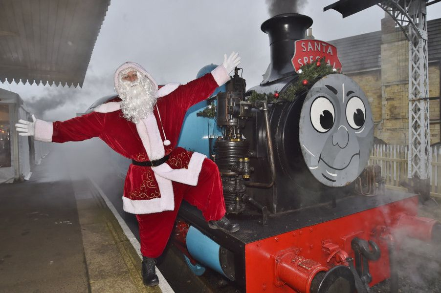 Santa Special at Nene Valley Railway, Wansford EMN-180112-173015009