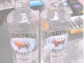 Some of the illegally smuggled vodka found