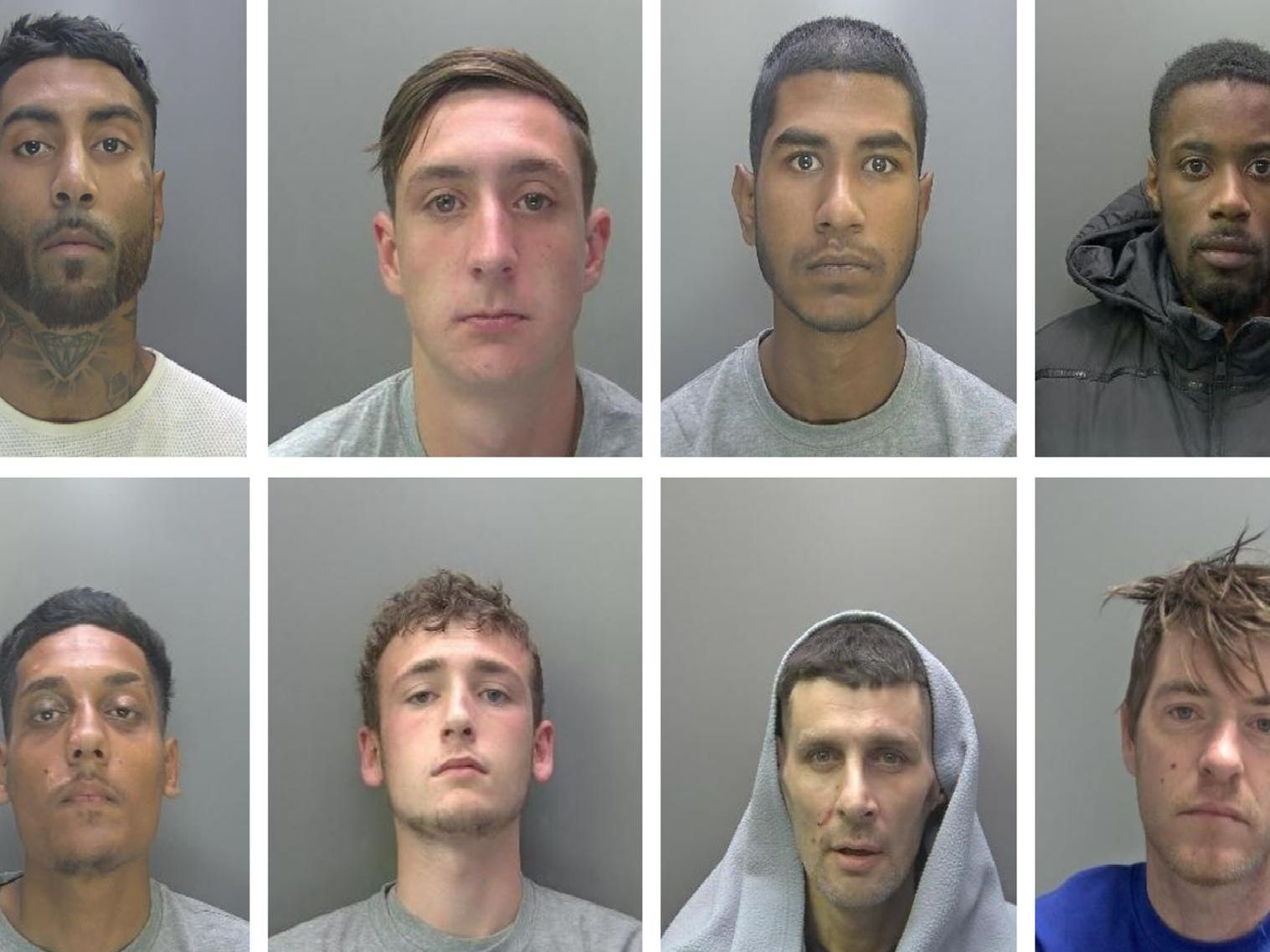 Criminals jailed in Cambridgeshire in January
