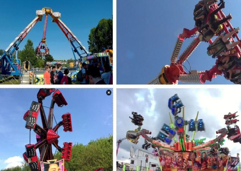 Check out the best rides at Peterborough's Big Mart Fun Fair