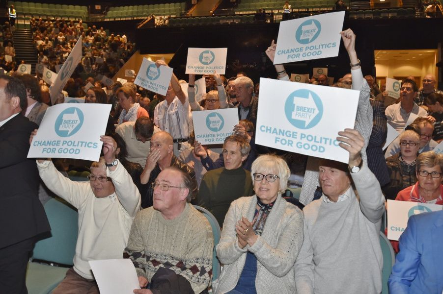 Image result for brexit party rally
