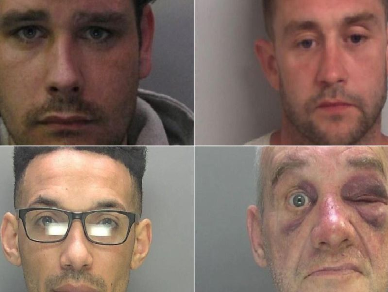 These are the images released by police if criminals jailed in June.