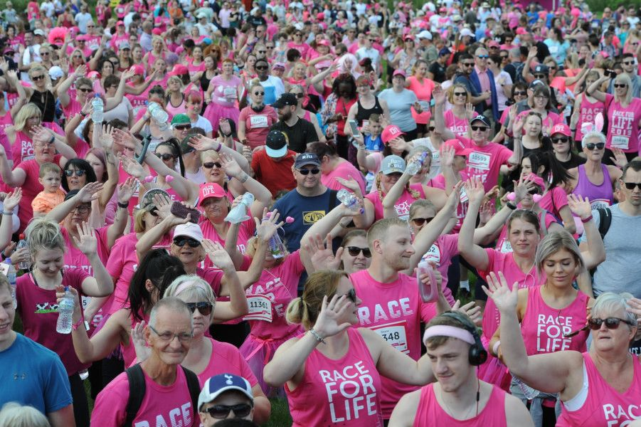 Race for Life 2019 at Ferry Meadows. EMN-190630-165703009