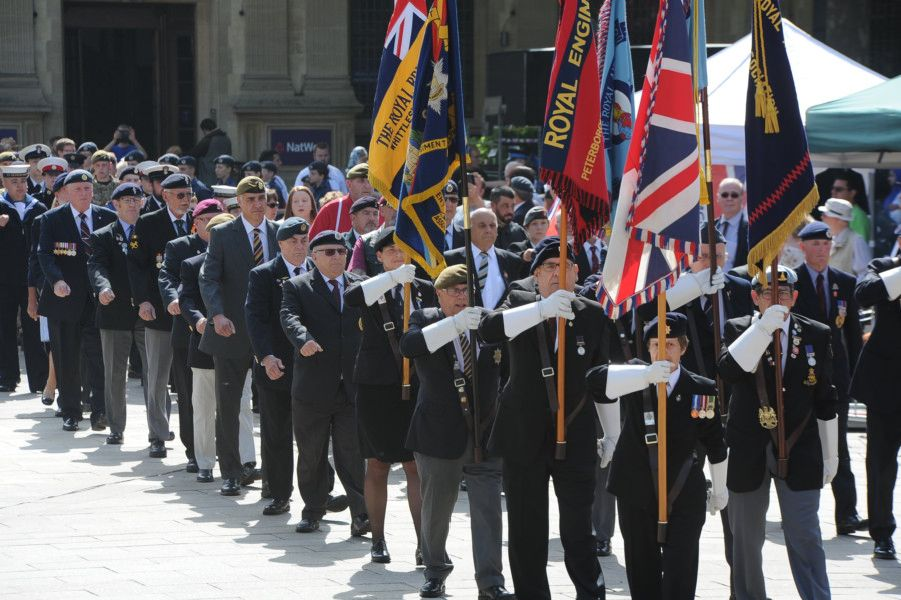 Armed Forces Day parade and inspection at the City Centre EMN-190629-232334009