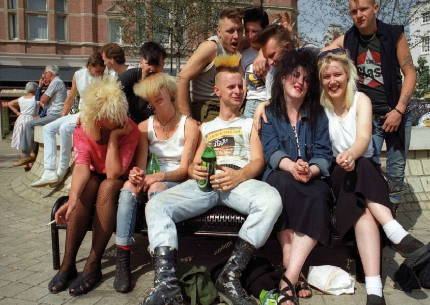 Peterborough punks from the late 1970s and early 1980s