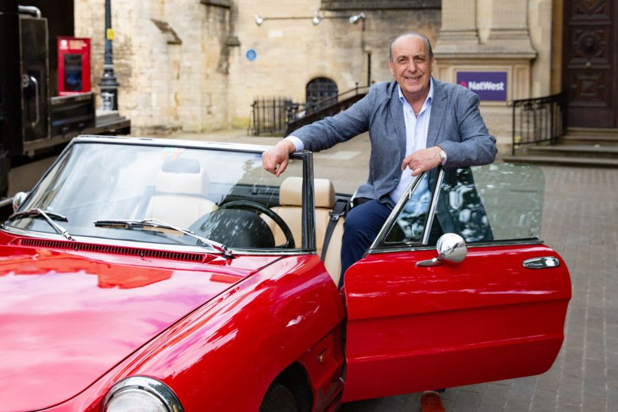 Peterborough Italian Festival. Special Guest Gennaro Contaldo,'City Centre, Peterborough'07/07/2019. 'Picture by Terry Harris / Peterborough Telegraph. THA