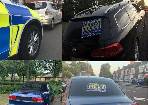 Cars seized this week by the BCH Road Policing Unit