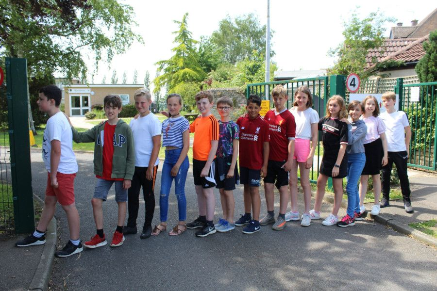 Pupils took part in a range of activities at teh end of the school year