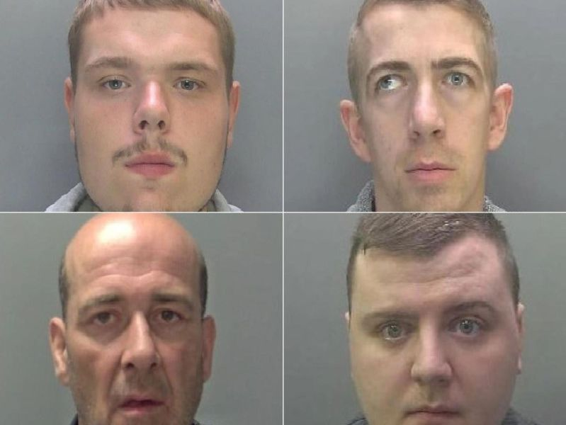 These are the faces of the people jailed in Peterborough and Cambridgeshire in September.