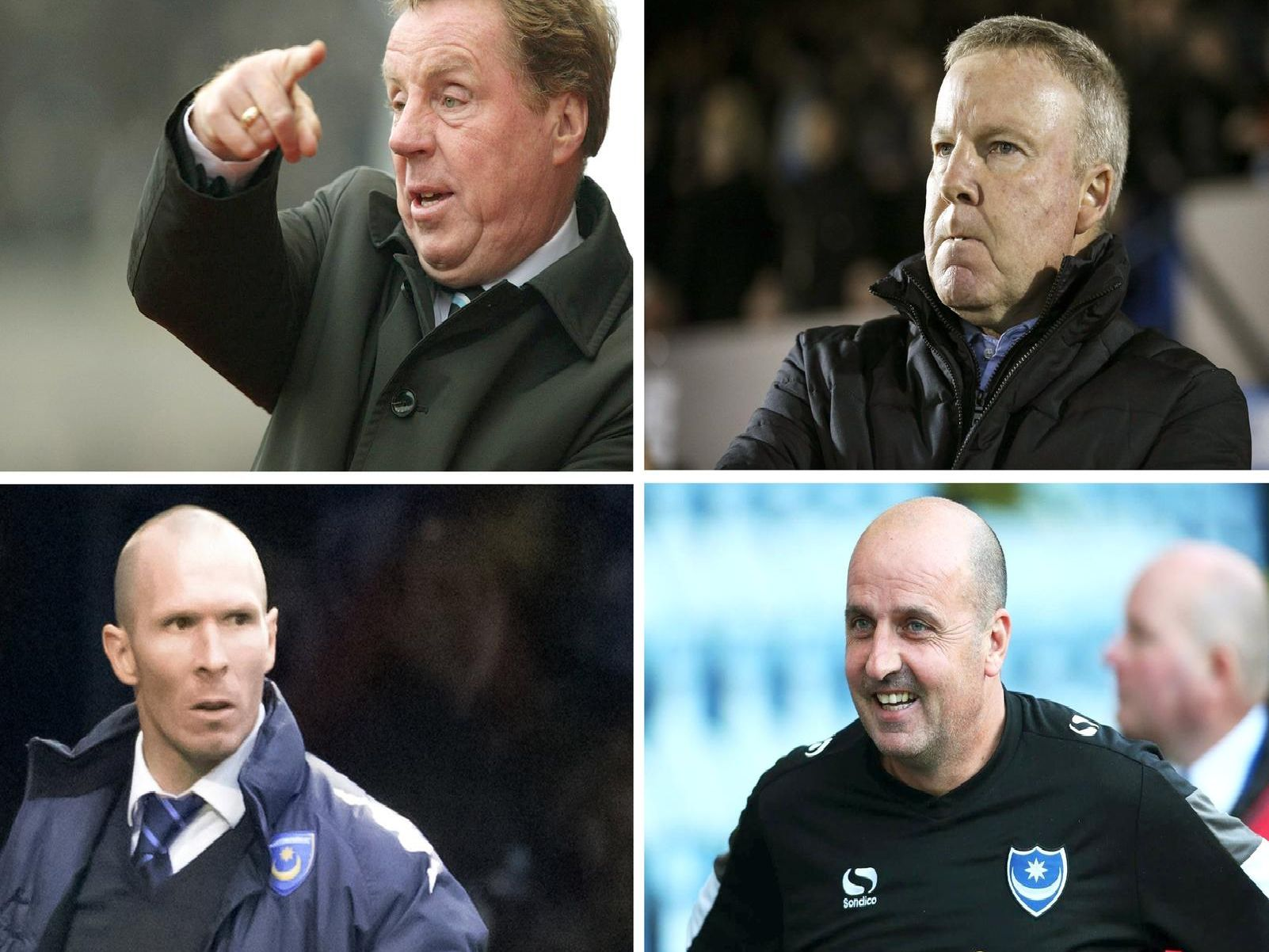 Pompey bosses since 2000