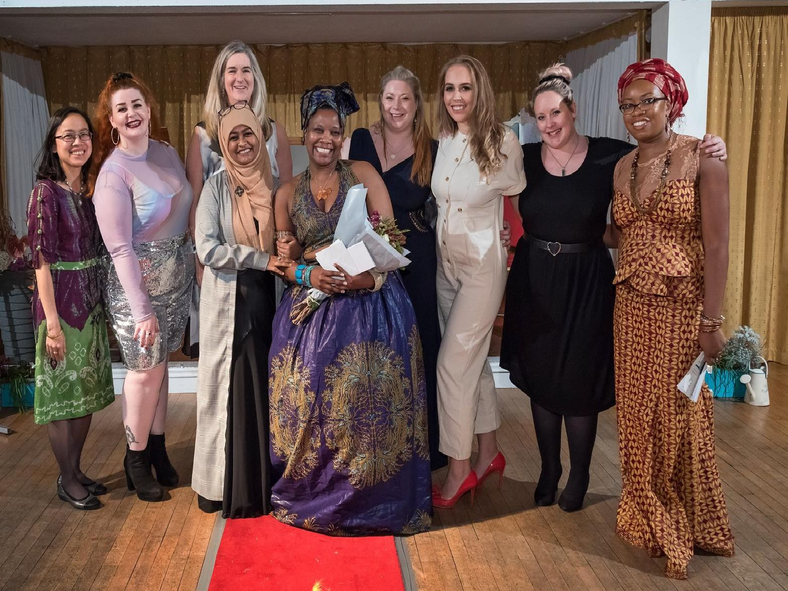 Organisers: Maricar Jagger, Tamzin Cormican, Claire Martin, Rowshonara Reza, Roni Edwards, Amy Doyle, Jen Sanchez, Carly-Ann Purcell and Freida M'Cormack.
