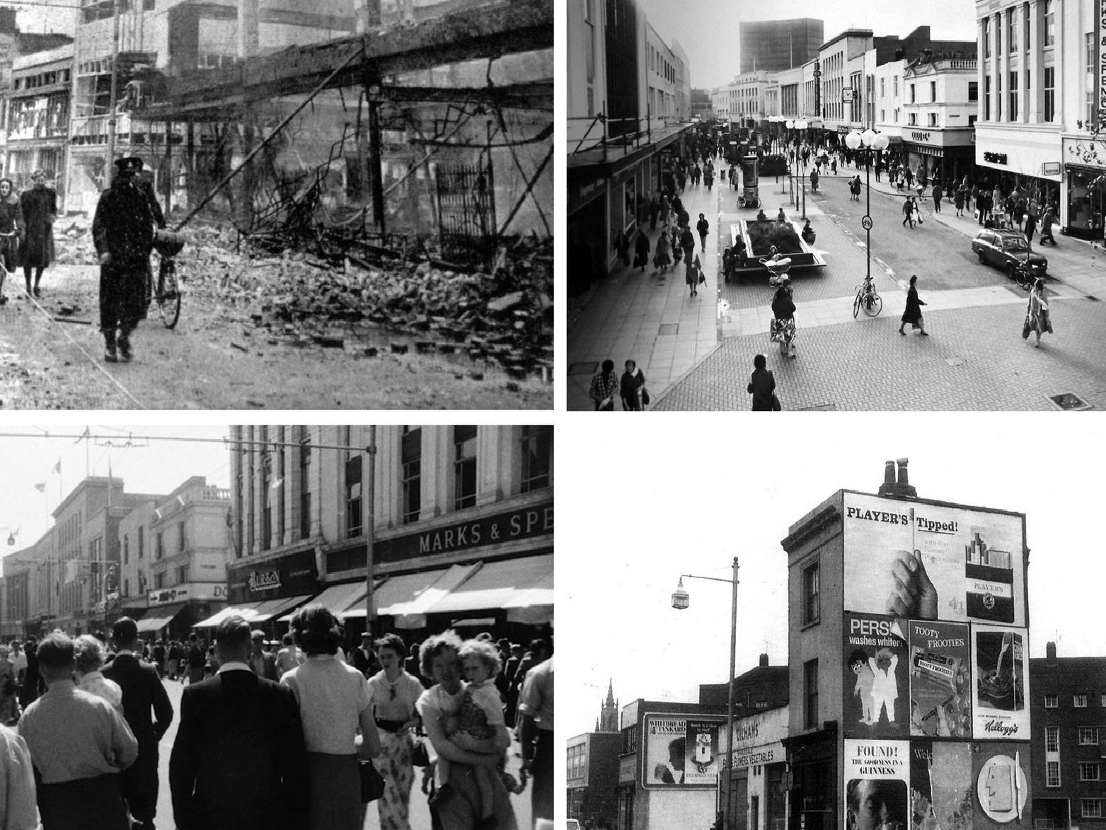 Commercial Road collage