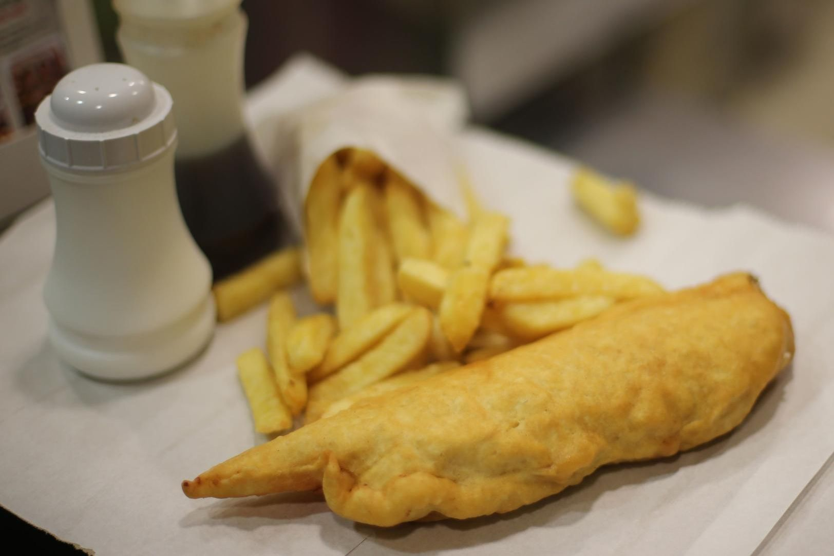 Mr Allen stole more than 6,000 from the fish and chip shop in Paulsgrove.