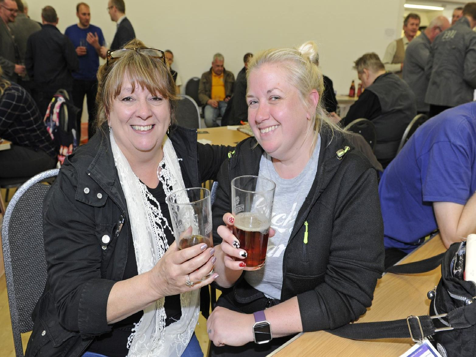 Glenda Walton and Laura Gray. Picture: Ian Hargreaves  (130419-1)