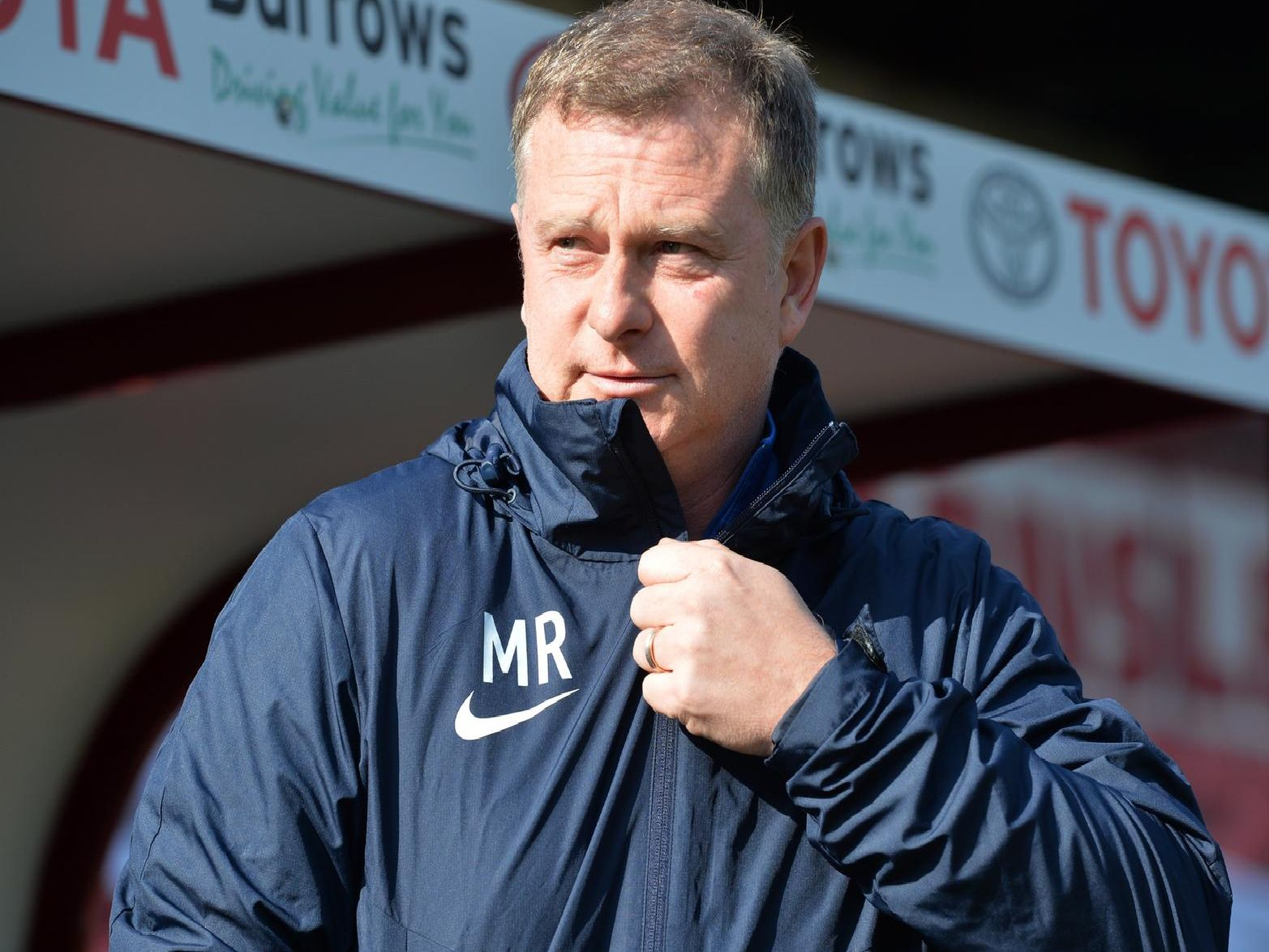 Coventry manager Mark Robins