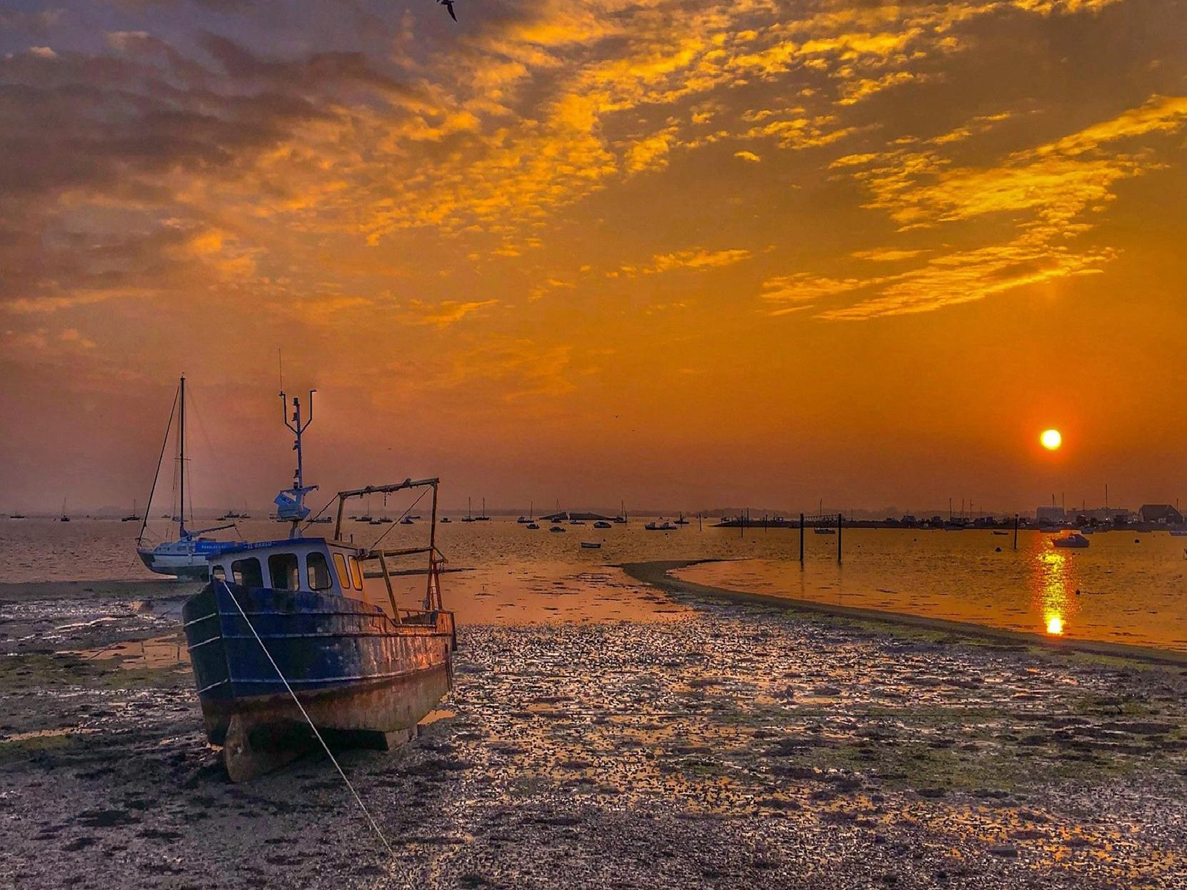 Stunning sunset at Eastney Beach by Neil Harris.