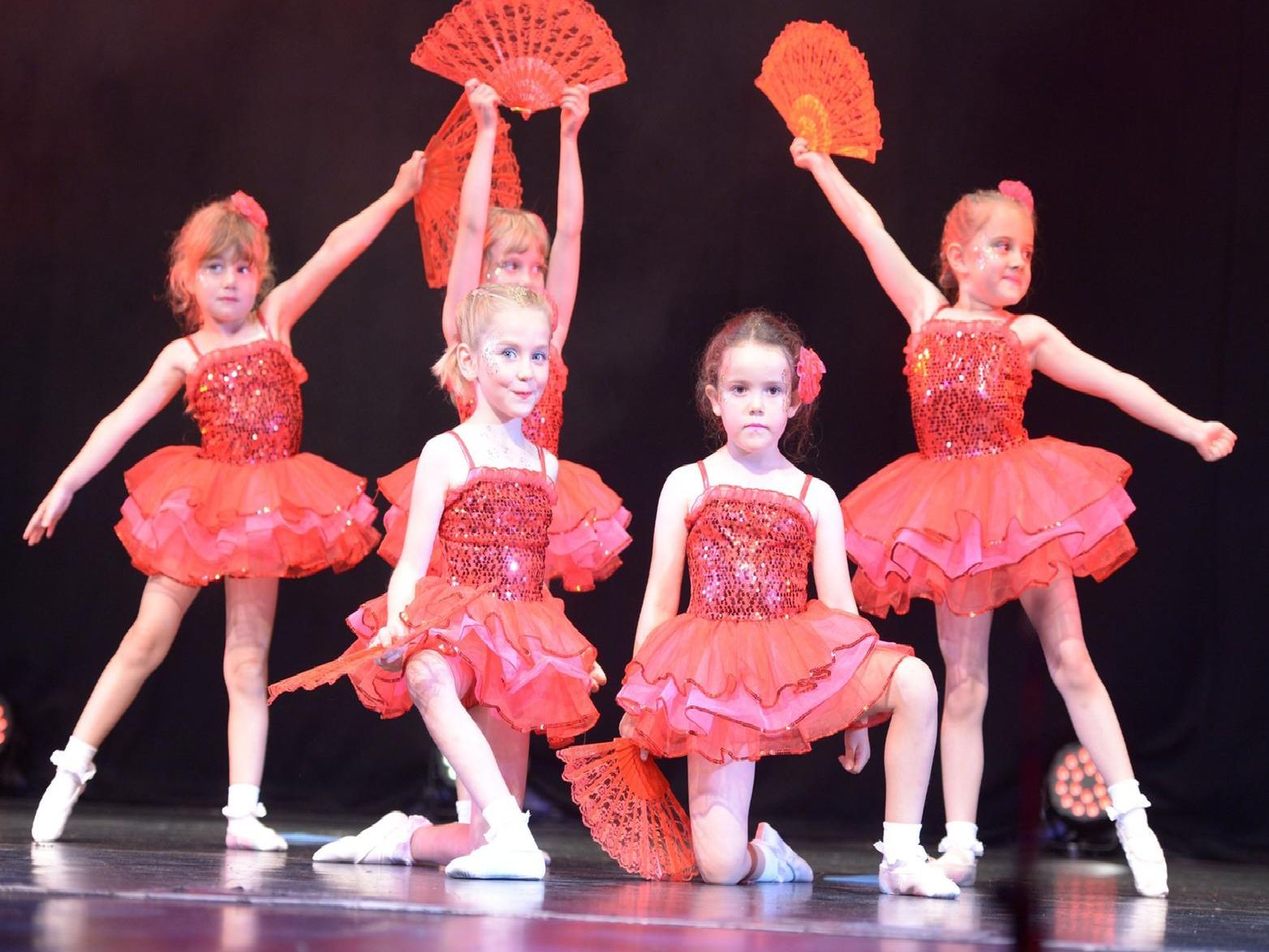 The Greatest Show Around the World was performed by the 4 to 7 year olds of Dancecatz Academy at Ferneham Hall.
