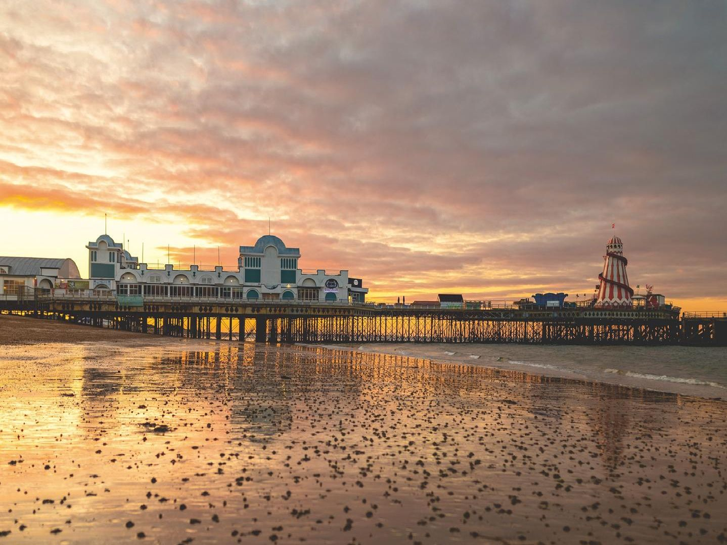 South Parade Pier Sunrise. Picture: James Clack