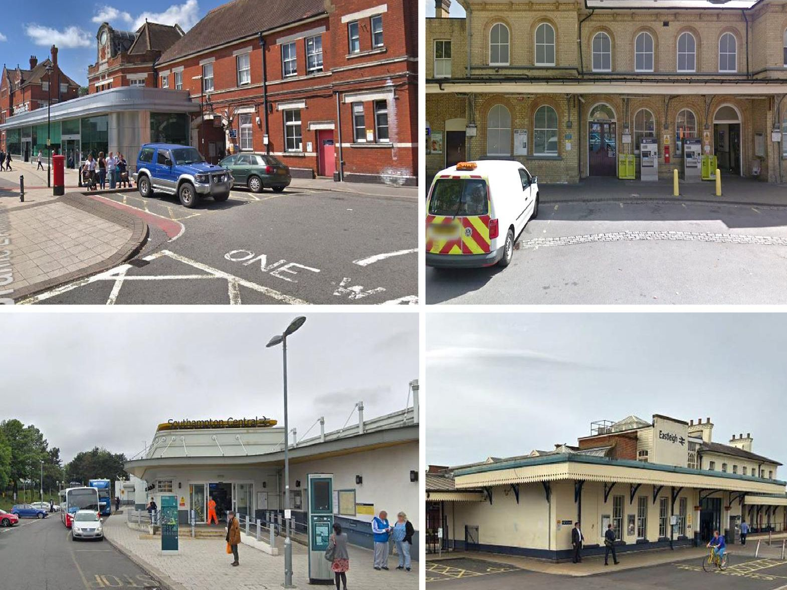Worst railway stations for sex offences in Hampshire
