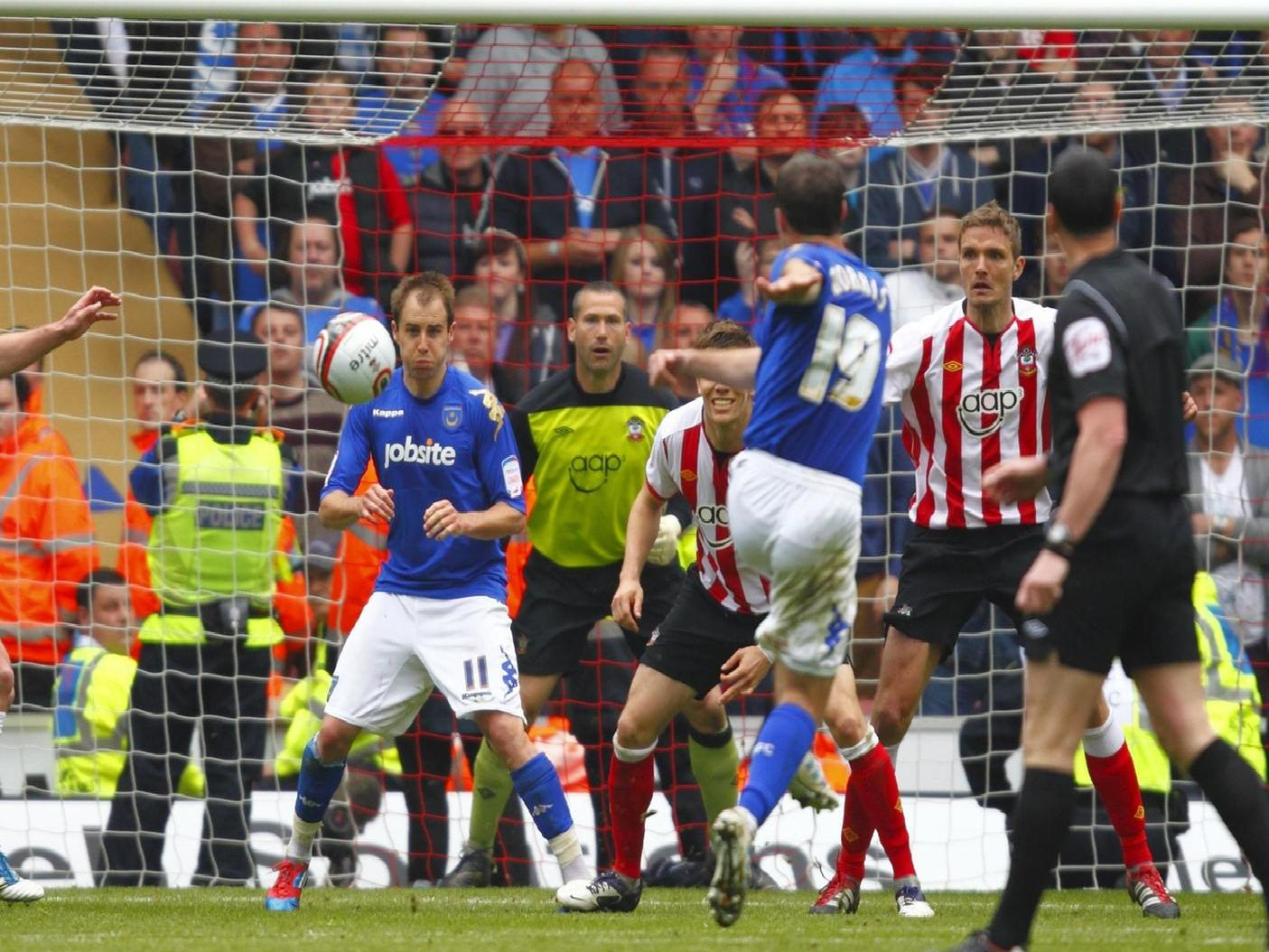 David Norris scores a famous equaliser in 2012.