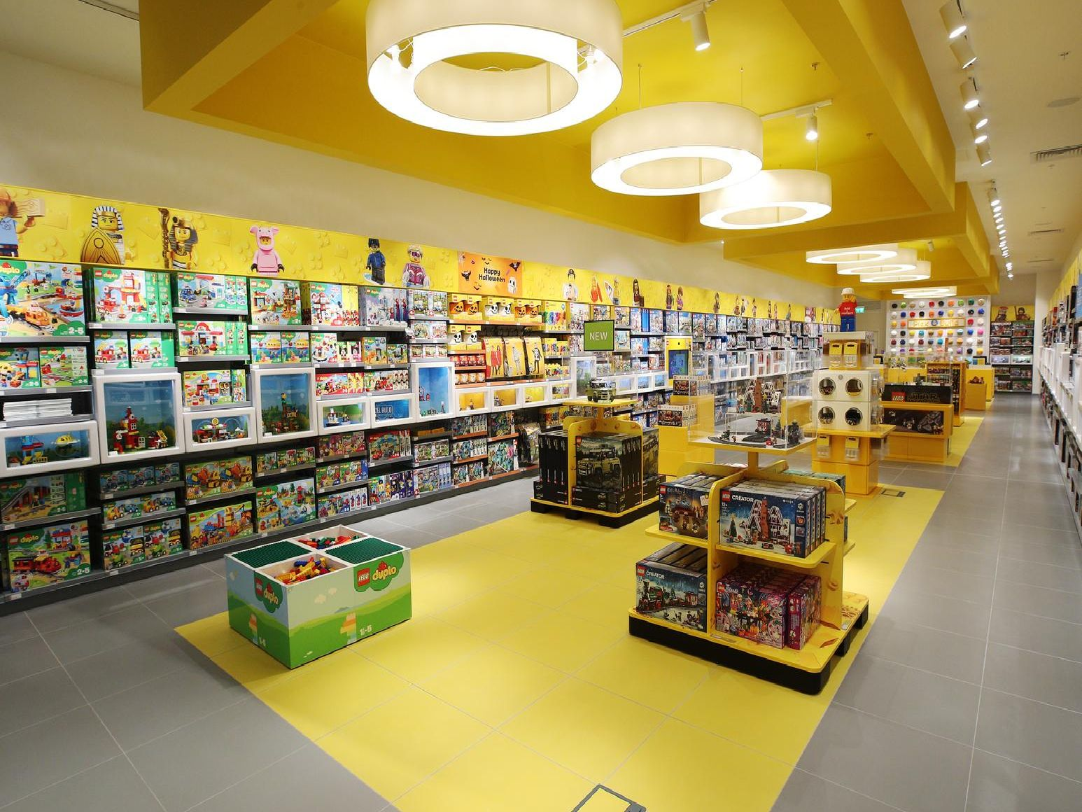 Inside the new Lego store in Southampton. Picture: PinPeP