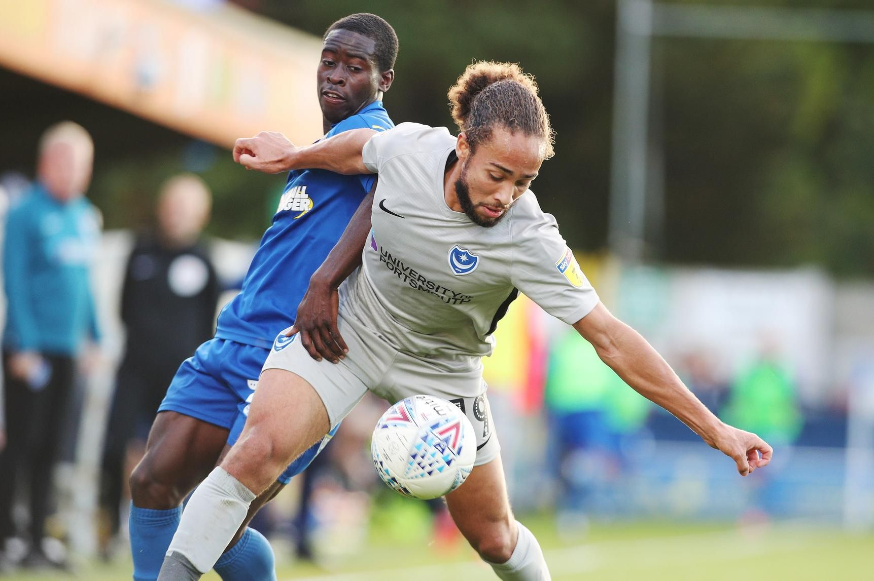 AFC Wimbledon 1-0 Portsmouth: Full-time picture gallery from Kingsmeadow
