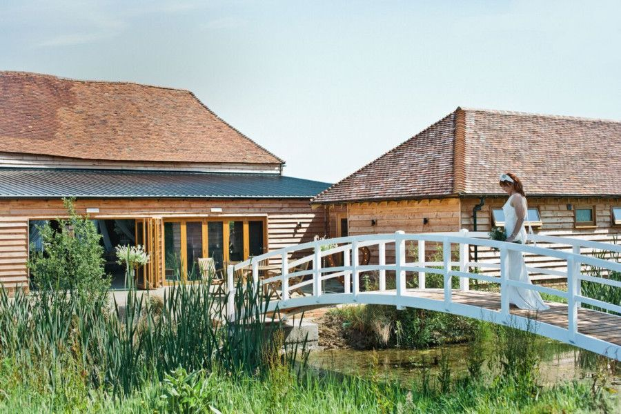 This is a beautiful 17th century barn renovation which only launched as a wedding venue last summer (2018) so may not be that well-known.