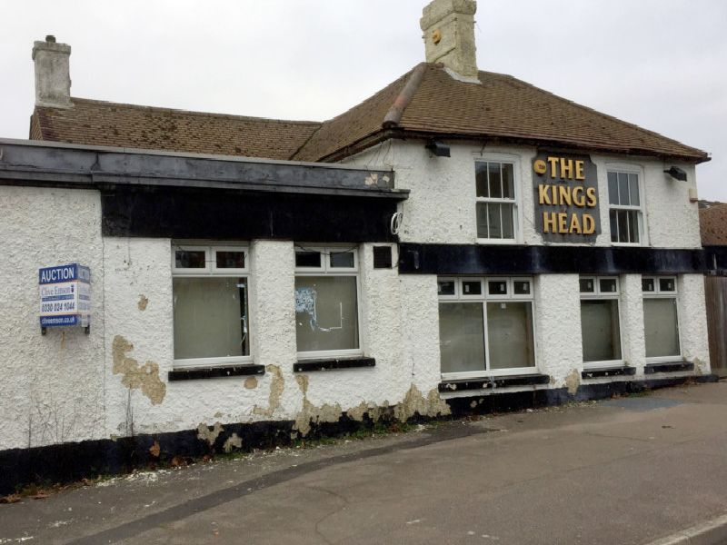 The King's Head pub, in Rye Road