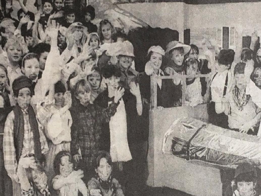 Around 80 children from John Selden Middle School took part in the production of Chitty Chitty Bang Bang