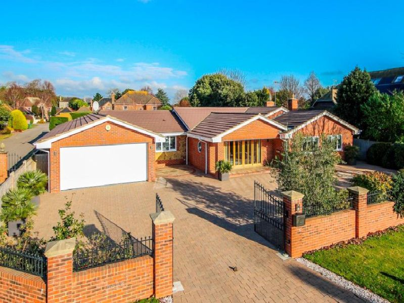 This elegant three bedroom detached bungalow is situated about half a mile from the seafront and is on the market with a guide price of �1,300,000 - for more information click on the link at the top of the page