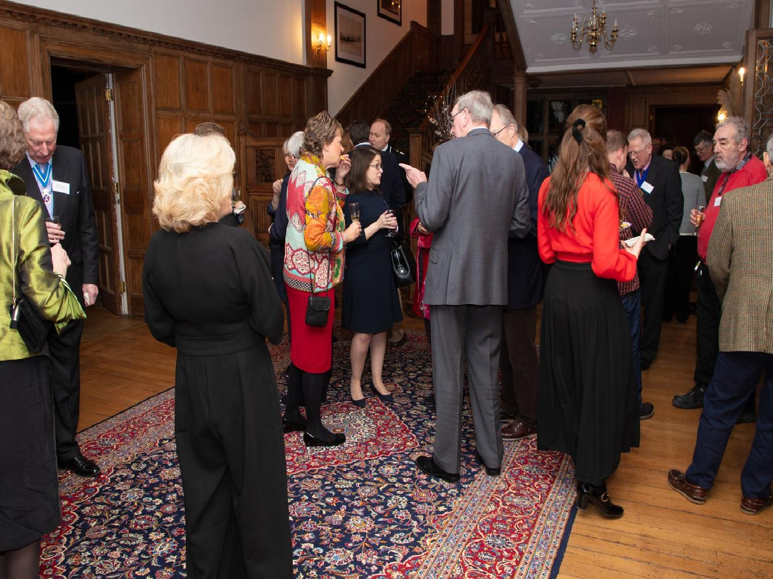 Guests at Balcombe Place