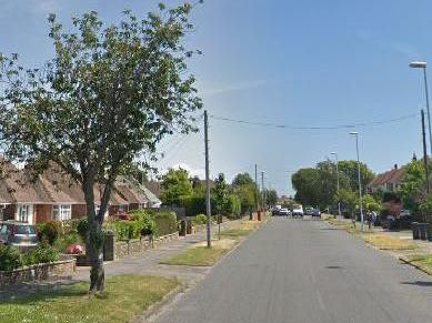 Palatine Road in Worthing, where the burglary happened. Picture: Google Maps
