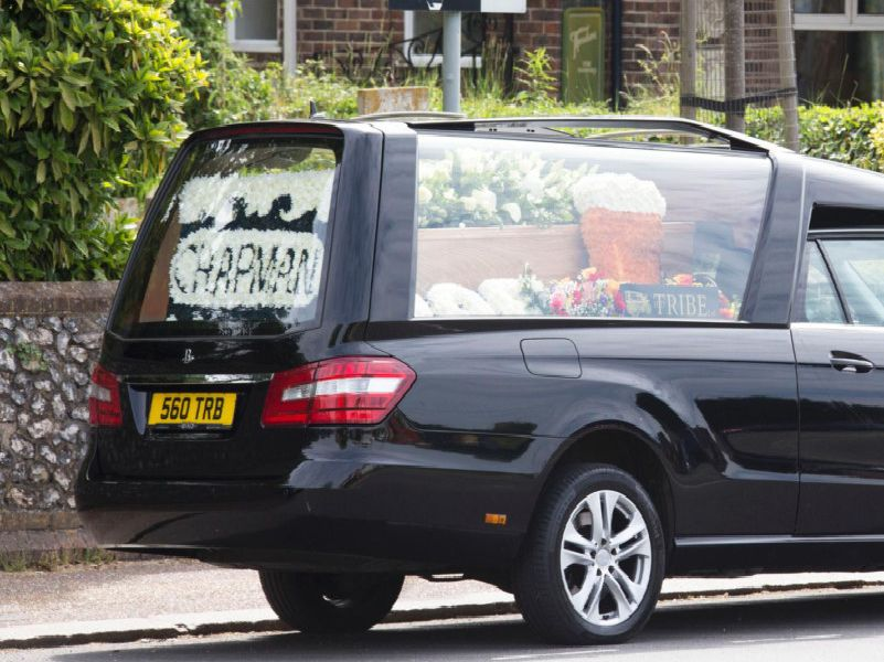 The funeral of Worthing hospitality entrepreneur Chris Chapman took place on Friday, May 24 at St Mary's Church, Broadwater