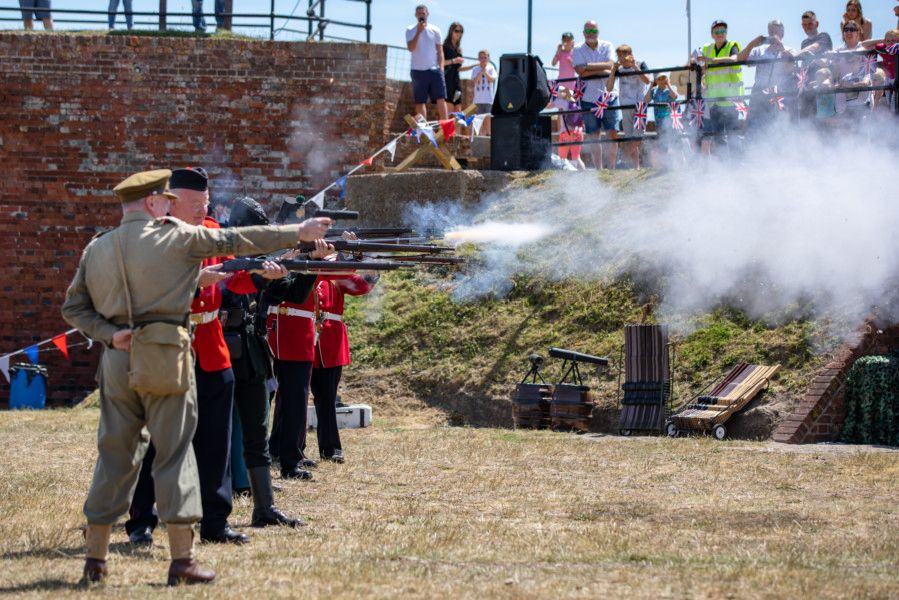 Shoreham Fort hosts its 8th annual Military History Weekend. Picture: Craig Searle