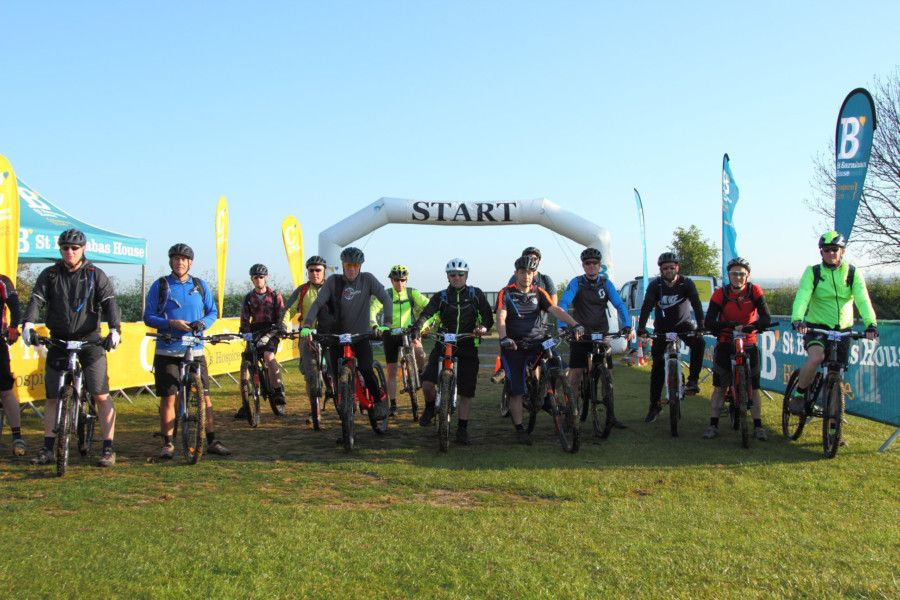 Hit The Downs start line