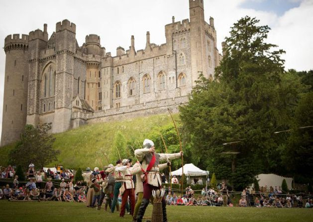 Mustering for War at Arundel Castle