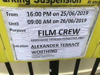 This is why film crews were in Worthing