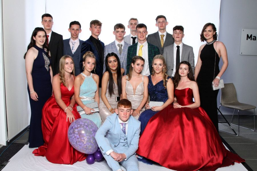 Students dressed in style for the year-11 prom at Shoreham Academy