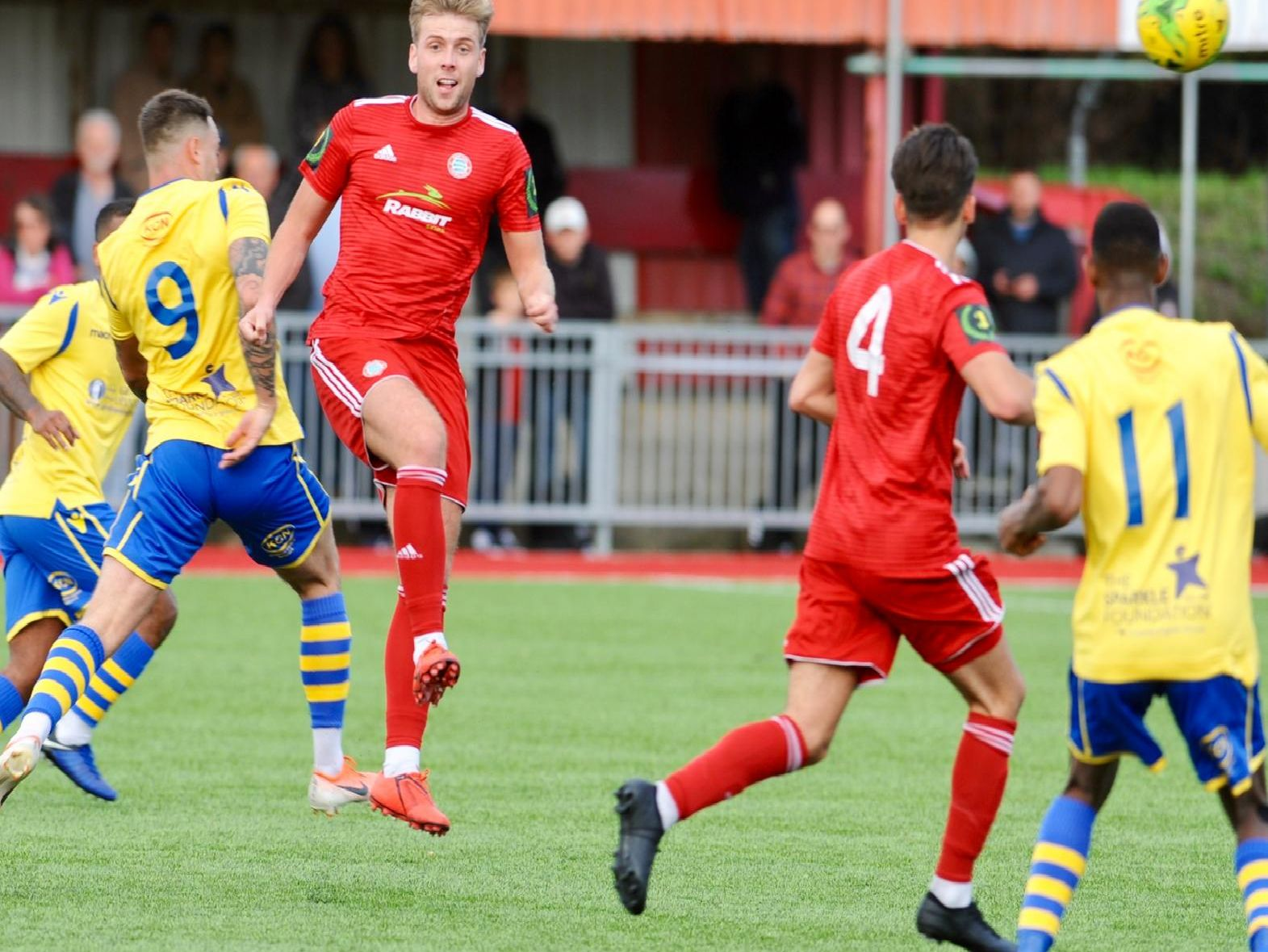 Action from Worthing v Kingstonian