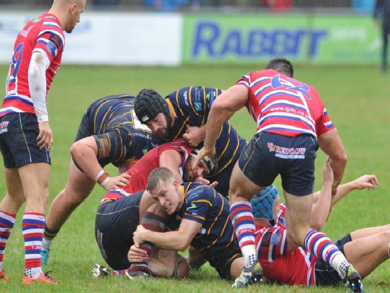 Action from Worthing Raiders v Tonbridge Juddians