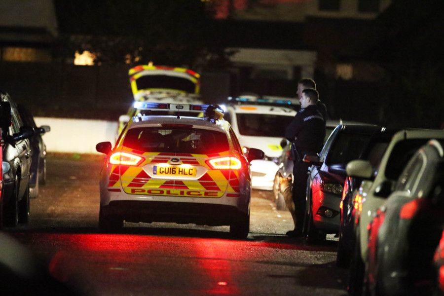 Police were called to Alverstone Road just before 9pm last night (January 6)