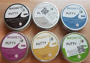 The magnetic putty which was available on Amazon