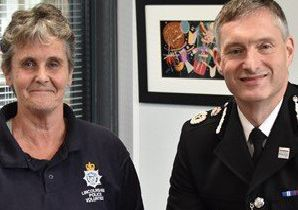 Lynn Chantrey was nominated by the Force for voluntary services to Lincolnshire Police and the communities of Lincolnshire ANL-190806-082109001