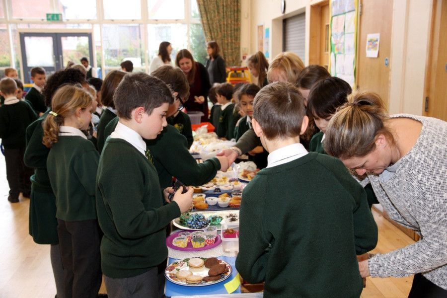 Enterprise Day at St Philip's Catholic Primary School in Uckfield