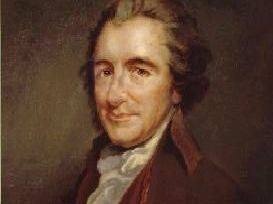 The subject of a forthcoming talk: Thomas Paine