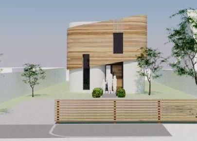 The proposed new build home in Ringmer