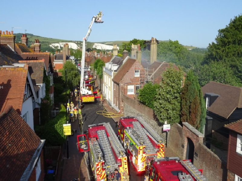 Southover High Street fire