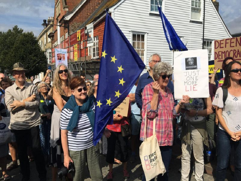 Picture: Susanna Way, Sussex for Europe